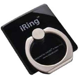 〔スマホリング〕 iRing アイリング (ブラック) UMS-OT01BL