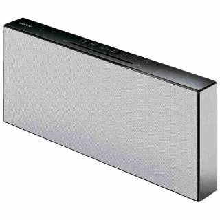 【ワイドFM対応】Bluetooth対応 マルチコネクトコンポ(ホワイト) CMT-X7CD WC