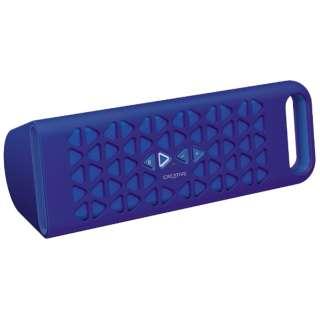 ブルートゥーススピーカー SP-MV10-BU ブルー [Bluetooth対応]