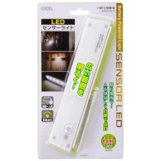 LEDセンサーライト NIT-L103B-W