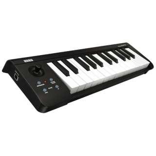 USB MIDIキーボード・コントローラー(25鍵) MICROKEY-25