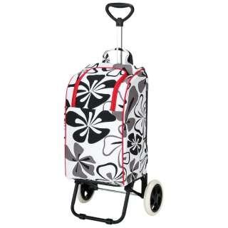 ライフ ショッピングカート 保冷バッグ付 (フラワー2) MK-2415