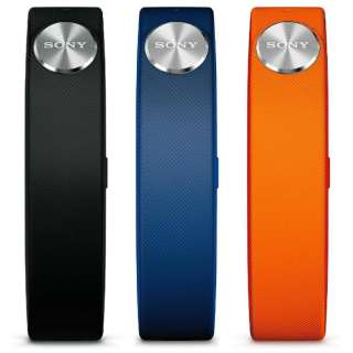 ウェアラブル活動量計用アクセサリー SmartBand SWR10用 リストバンド(Classicキット Sサイズ) ブラック・オレンジ・ブルー SWR110 CS