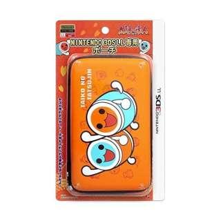 太鼓の達人 NINTENDO 3DS LL専用ポーチ オレンジ【3DS LL】