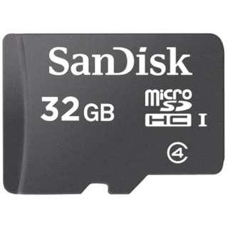 microSDHCカード スタンダードシリーズ SDSDQ-032G-J35U [32GB /Class4]