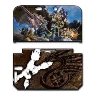 モンスターハンター4G カバー for ニンテンドー3DS LL【3DS LL】