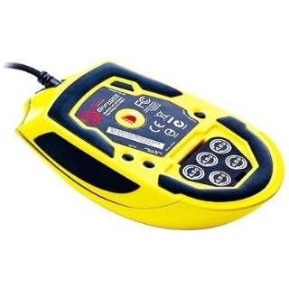MO-SPH008DTN ゲーミングマウス TteSPORTS SAPHIRA Mouse メタリックイエロー  [光学式 /5ボタン /USB /有線]