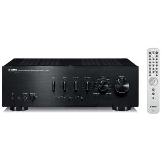 【ハイレゾ音源対応】プリメインアンプ DAC付 ブラック AS801 [DAC機能対応 /トランジスタ /ハイレゾ対応]