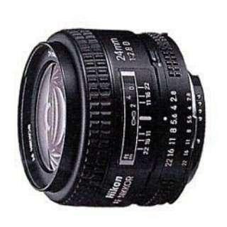 カメラレンズ AI AF Nikkor 24mm f/2.8D NIKKOR(ニッコール) ブラック [ニコンF /単焦点レンズ]