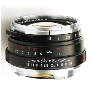 カメラレンズ 40mm F1.4 SC(シングルコート) NOKTON Classic Series(ノクトン クラシックシリーズ) ブラック [ライカM /単焦点レンズ]