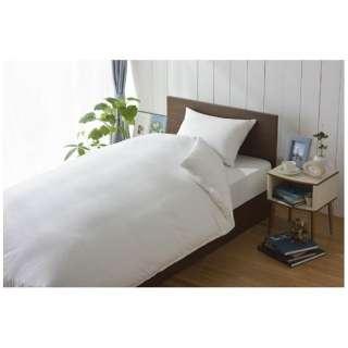 【ボックスシーツ】スーピマ セミダブルサイズ(綿100%/120×200×28cm/ホワイト)【日本製】