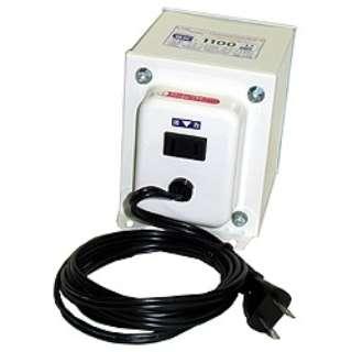 変圧器 (アップダウントランス) 「トランスフォーマ SKシリーズ」(120V⇔100V・容量1100W) SK-1100U