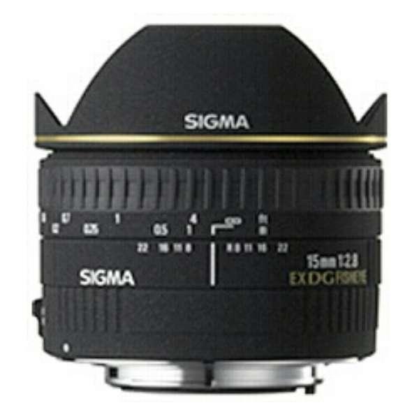 カメラレンズ 15mm F2.8 EX DG DIAGONAL FISHEYE ブラック [キヤノンEF /単焦点レンズ]