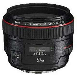 カメラレンズ EF50mm F1.2L USM ブラック [キヤノンEF /単焦点レンズ]