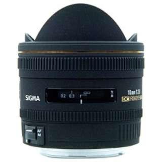 カメラレンズ 10mm F2.8 EX DC FISHEYE HSM APS-C用 ブラック [キヤノンEF /単焦点レンズ]