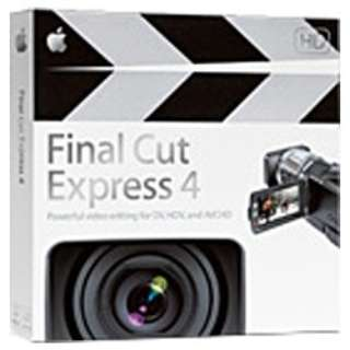 Final Cut Express 4.0 (ファイナル カット エクスプレス 4.0)