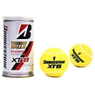 テニスボール XT8(2個入缶)