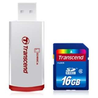 SDHCカード TS16GSDHC6P2 [16GB /Class6]