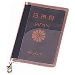 SWT パスポートカバー クリア ピンク