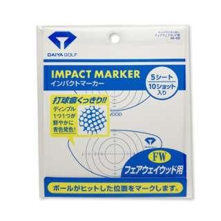 ゴルフ用品 インパクトマーカー フェアウェイウッド用 AS-422