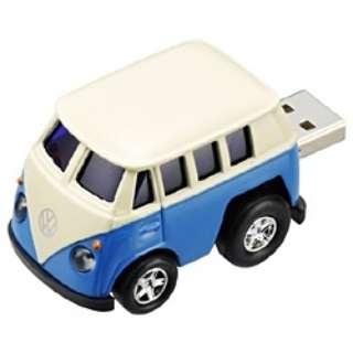 〔AutoDriveシリーズ〕 世界の名車 USBフラッシュメモリ (4GB・VW クラシックバス) GH-UFD4GC-VWC