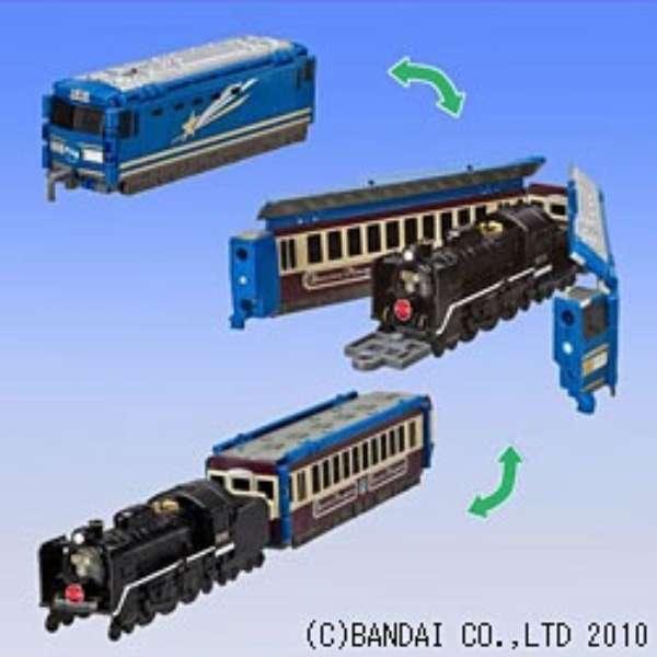 VooV(ブーブ)【VL27】 EF510形 北斗星~C57形180号機・12系客車(SLばんえつ物語号)