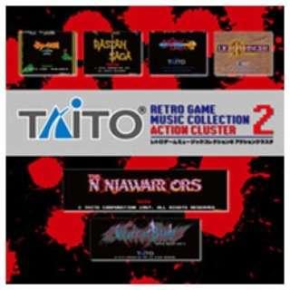 ZUNTATA/タイトー レトロゲームミュージック コレクション2 アクションクラスタ 【CD】
