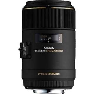 カメラレンズ MACRO 105mm F2.8 EX DG OS HSM ブラック [キヤノンEF /単焦点レンズ]