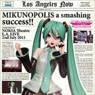 "MIKUNOPOLIS in LOS ANGELES ""はじめまして、初音ミクです"" 【音楽CD】"