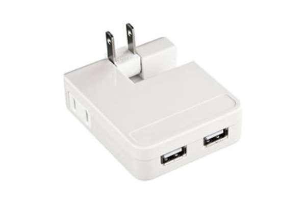 USB充電器のおすすめ11選 サンワサプライ ACA-IP25W