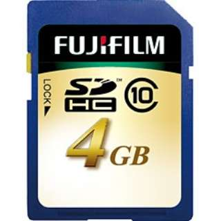 SDHCカード SDHC004GC10 [4GB /Class10]
