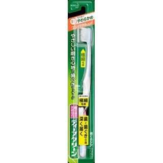 ディープクリーン 歯ブラシ コンパクト やわらかめ(1本入り)〔歯ブラシ〕
