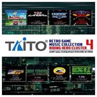 ZUNTATA/タイトー レトロゲームミュージック コレクション 4 ライディングヒーロー クラスタ 【音楽CD】