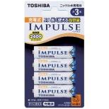 TNH-3A 4P 単3形 充電池 IMPULSE(インパルス) [4本]