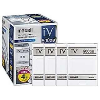 M-VDRS500G.C.4P iV-DR(アイヴィ) [500GB /4個 /著作権保護対応]