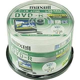 DRD47WPD.50SP データ用DVD-R ホワイト [50枚 /4.7GB /インクジェットプリンター対応]