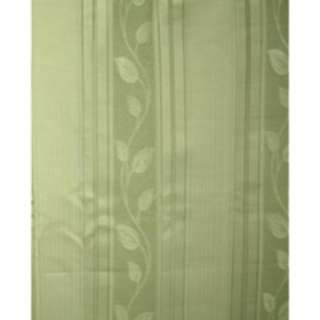 2枚組 ドレープカーテン マイリーフ(100×135cm/グリーン)