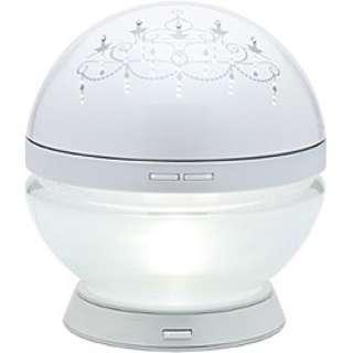 空気清浄機 「マジックボール シャンデリア」(空気清浄機能:対応畳数20畳まで) CH-1 ホワイト