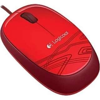 M105RD マウス レッド  [光学式 /3ボタン /USB /有線]