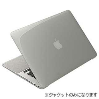 Airジャケットセット (MacBook Air 13inch用[2010~2012]・クリアブラック) PMC-63