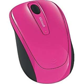 GMF-00287 マウス Wireless Mobile Mouse 3500 マゼンタ ピンク  [BlueLED /3ボタン /USB /無線(ワイヤレス)]
