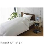 【ワンタッチシーツ】80サテン セミダブルサイズ(綿100%/125×215cm/ホワイト)