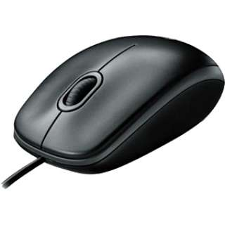 M100rBK マウス ブラック  [光学式 /3ボタン /USB /有線]