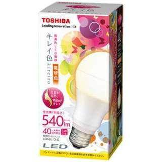 LED電球 「キレイ色」(一般電球形[全方向タイプ]・全光束540lm/電球色相当・口金E26) LDA9L-D-G