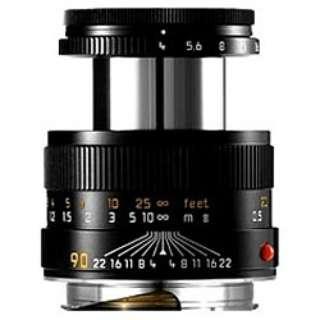 カメラレンズ M F4/90mm セット MACRO ELMAR(マクロ エルマー) ブラック [ライカM /単焦点レンズ]