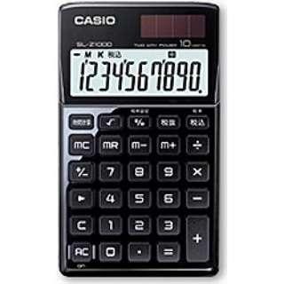 846bb8d522 ビックカメラ.com | カシオ CASIO デザイン電卓 (10桁) SL-Z1000BK(ブラック) 通販