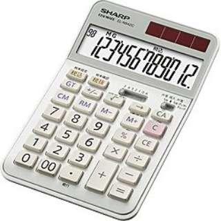 実務電卓 ナイスサイズタイプ EL-N942C-X [12桁]