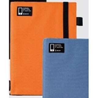 スマートフォン用 スマホでスキャンしやすいノートカバー (B5タテ型・オレンジ) 1701 OR