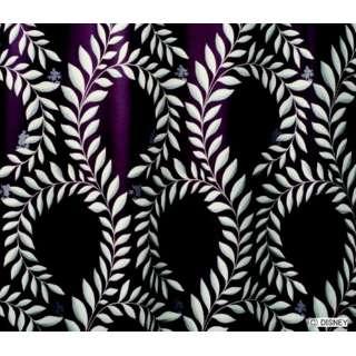 ドレープカーテン ミッキー/ローレル(100×178cm/ダークバイオレット)【日本製】