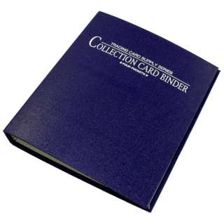 コレクションカードバインダー4ポケット(ブルー  )